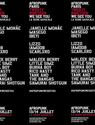 Afropunk Fest Paris Weekend Vip